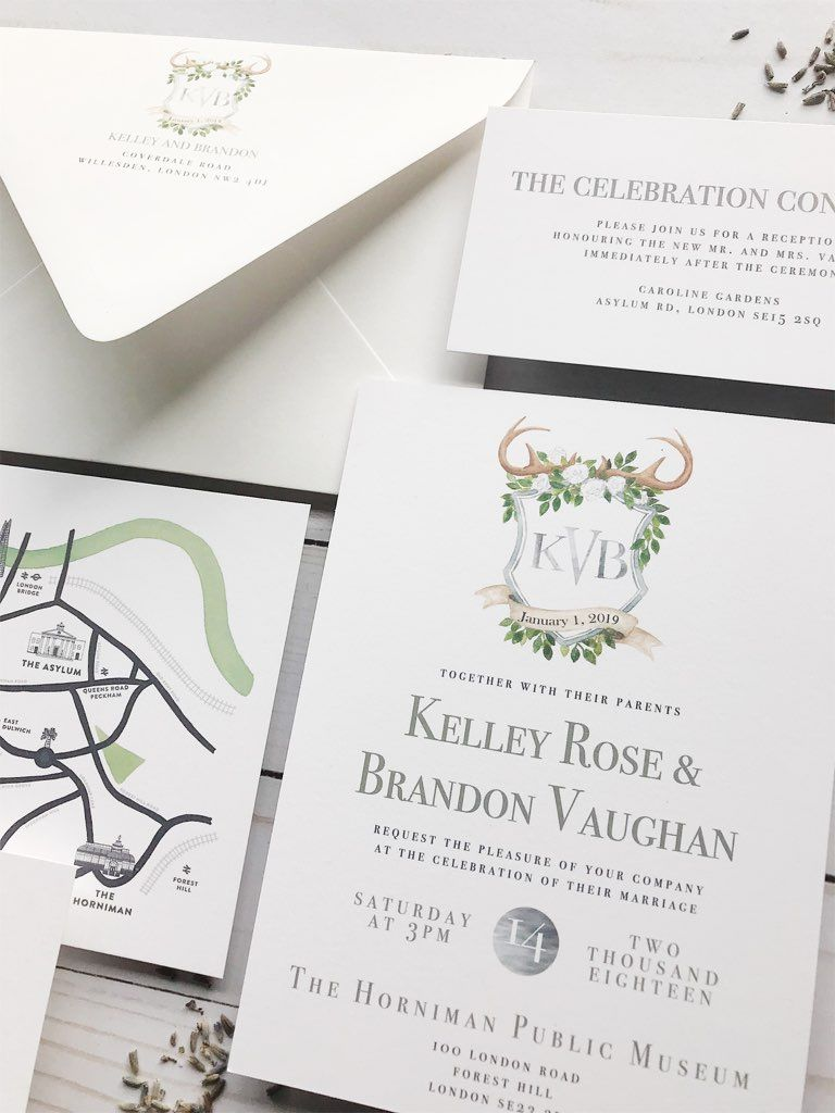 Custom Wedding Invitation Reveal: Rustic Monogram | Summer wedding ...