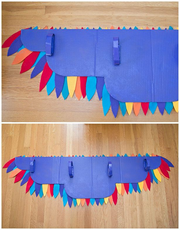 Diy rainbow bird wing costume bird wings rainbows and costumes hello wonderful diy rainbow bird wing costume solutioingenieria Image collections