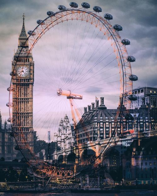 london eye and clock tower oh the places you ll go pinterest