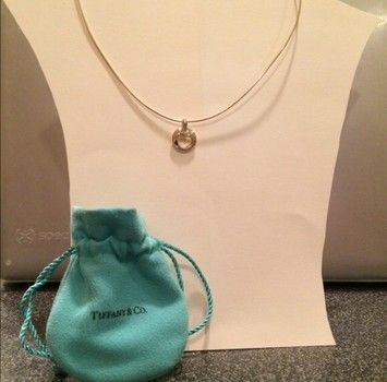 Tiffany & Co. Wire Heart Necklace $129