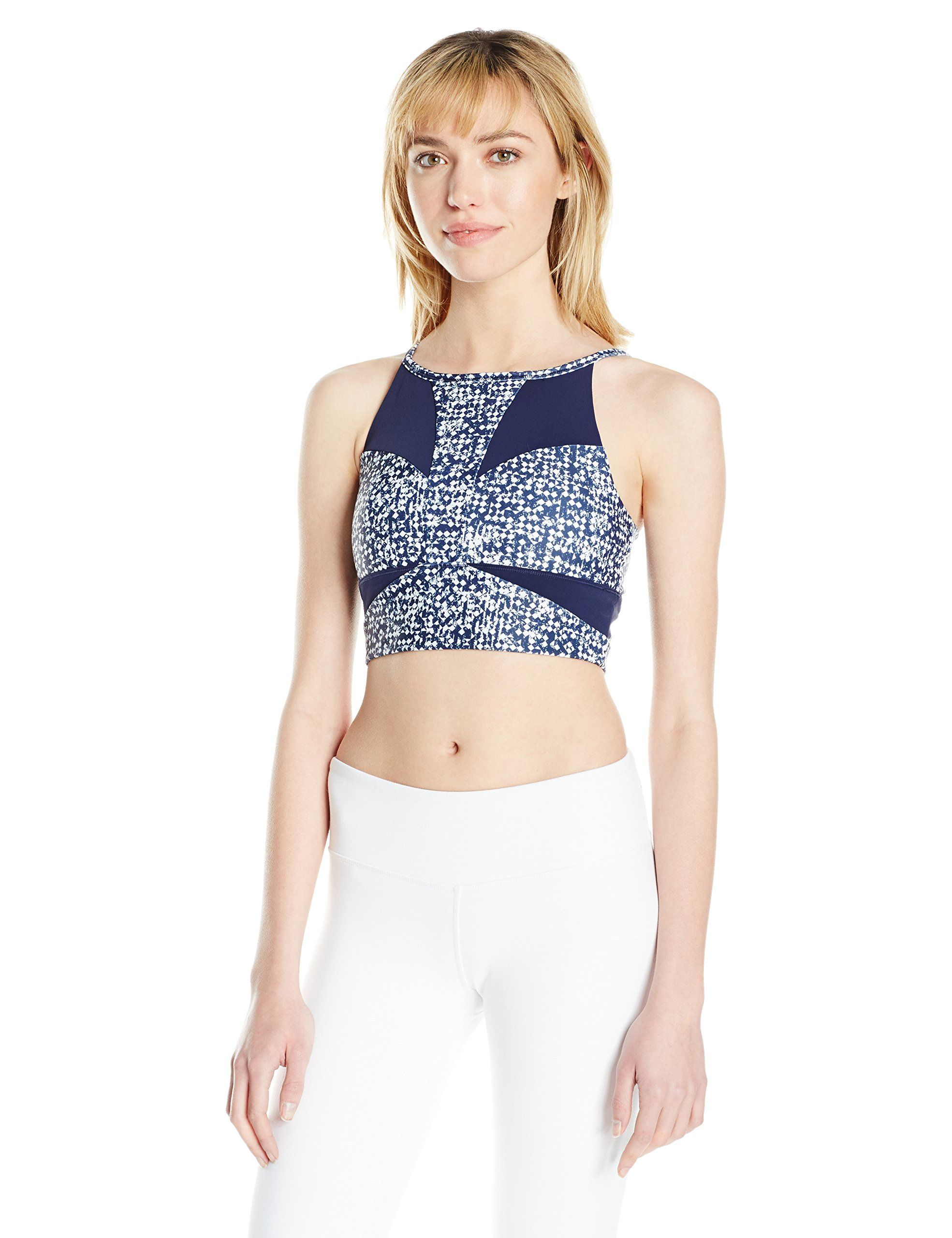 02d1902dc4fdf PUMA Womens Culture Surf Crop Top Bra No Color Peacoat White Box Print XL      Click picture for even more information. (This is an affiliate link).