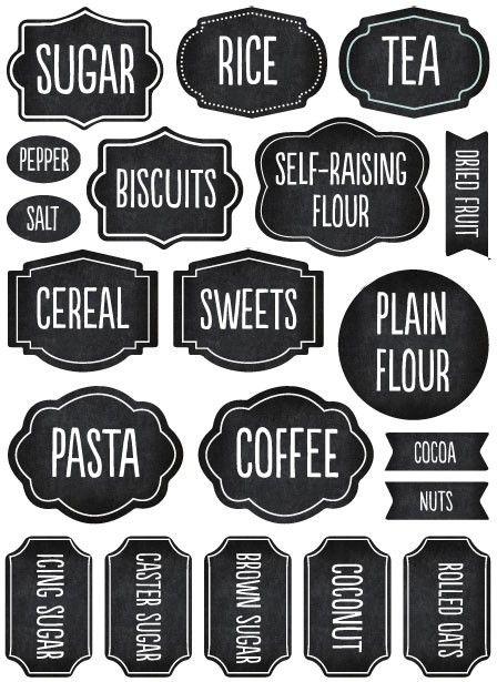 pantry labels tinyme com au organization pinterest pantry