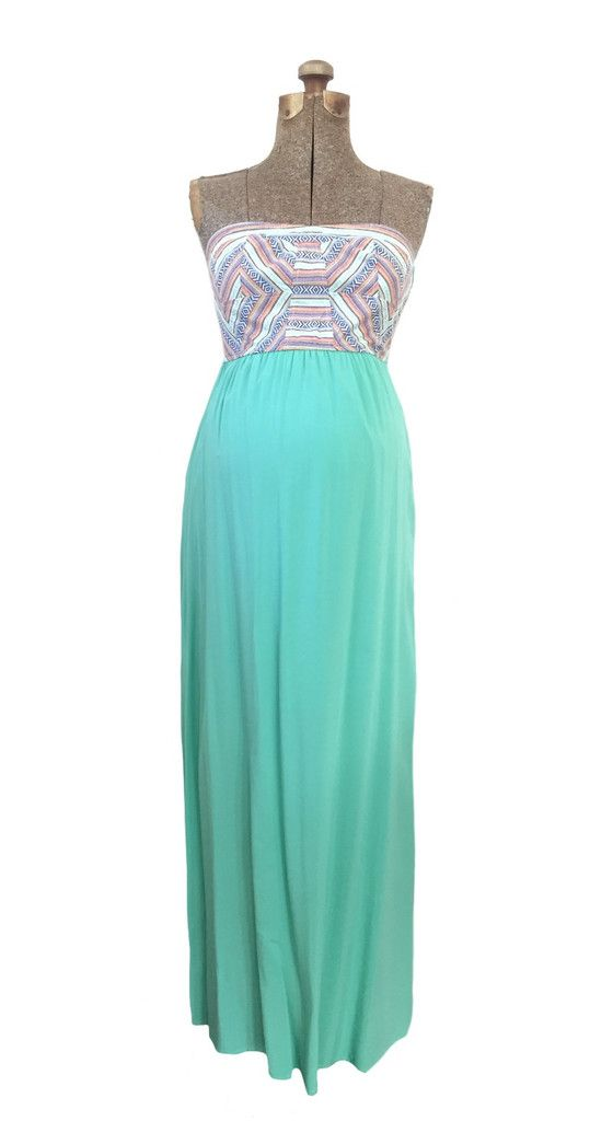 1e4a3aaaee6 Mint Kaydence Maternity Friendly Maxi Dress. Absolutely beautiful for a  baby shower