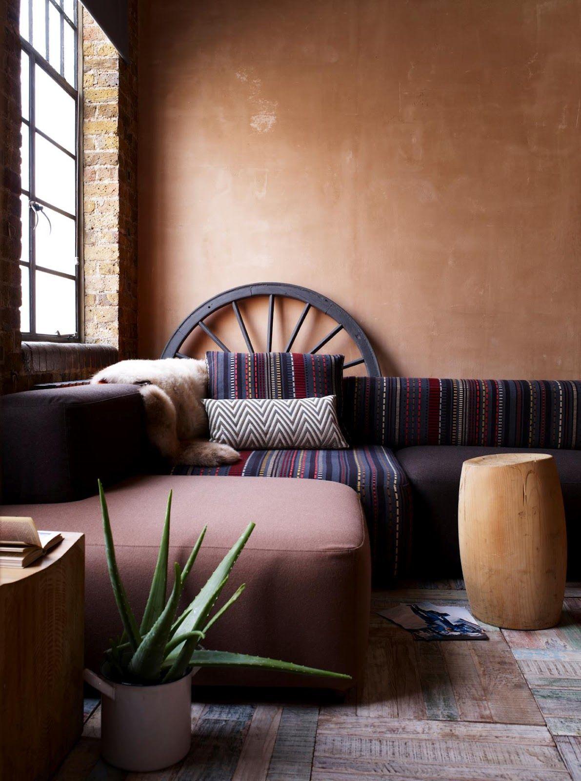 Southwest decor living room  Southwestern style sofa interior design sofa upholstery fabric