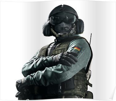 Rainbow Six Siege Jager Poster Tom Clancy S Rainbow Six Jager