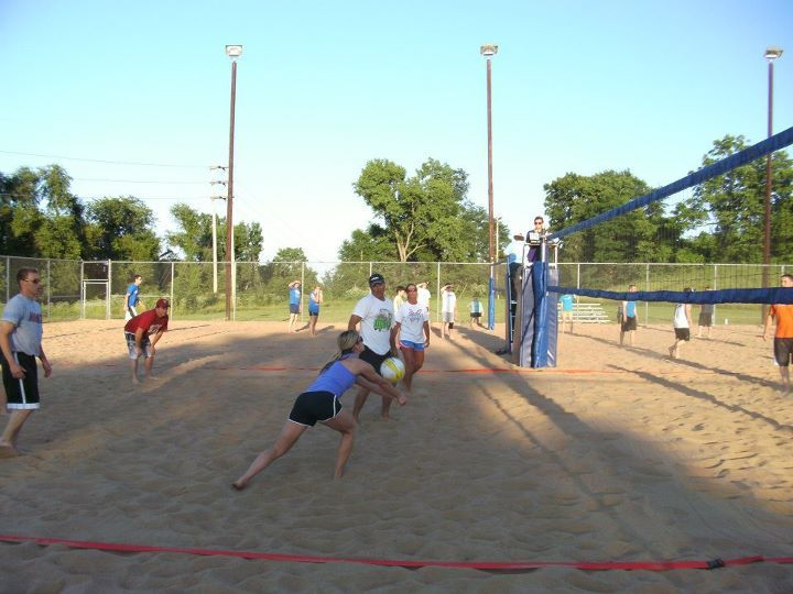 Sand Volleyball Courts Hannibal Parks Recreation Sand Volleyball Court Parks And Recreation Sports Complex