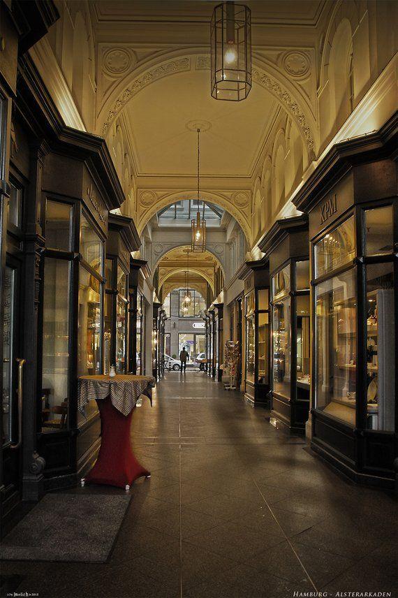 Hamburg - Alsterarkaden von hherrlich - Galerie - heise Foto