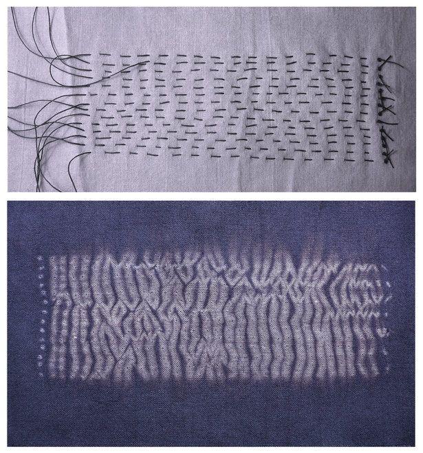 Dyeing Fabric - Shibori Techniques