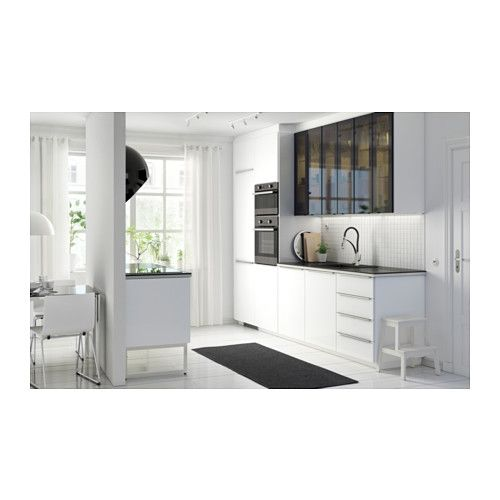 Ringhult puerta alto brillo blanco kitchens and room - Cucine monoblocco ikea ...