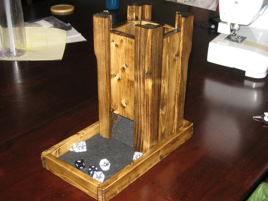Dice Tower Would Make A Cool Gift For Someone Who Loves
