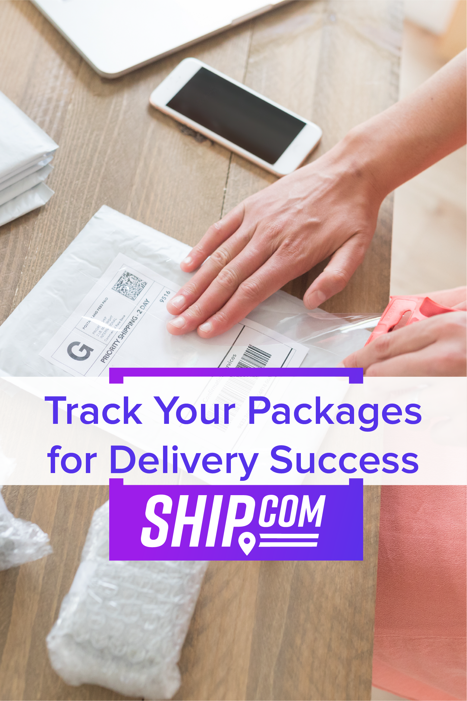 Track Your Packages for Deliver Success. shipping