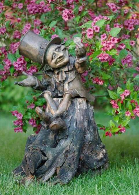 Bronze Sculpture · Carved Tree · Garden GnomesGarden StatuesFairies ...