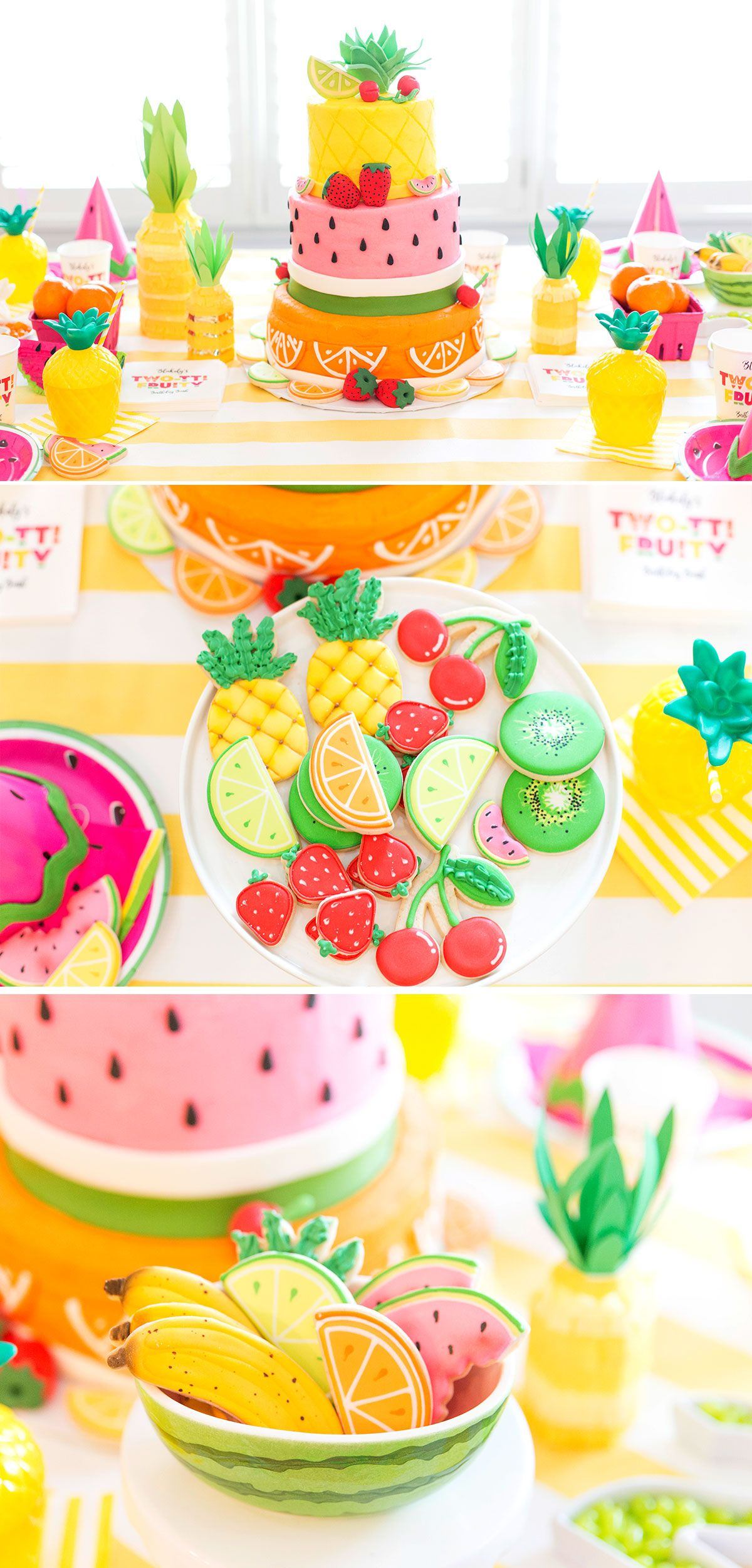 25 Fun Birthday Party Theme Ideas Summer Party Themes Fruit