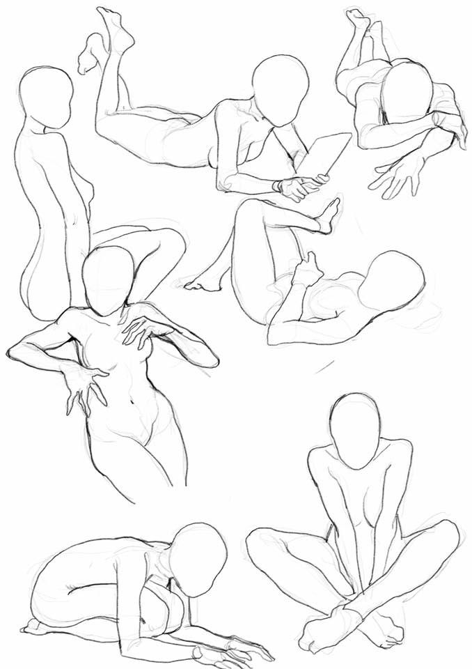 Anatomy Practice Drawing References Pinterest Anatomy Pose