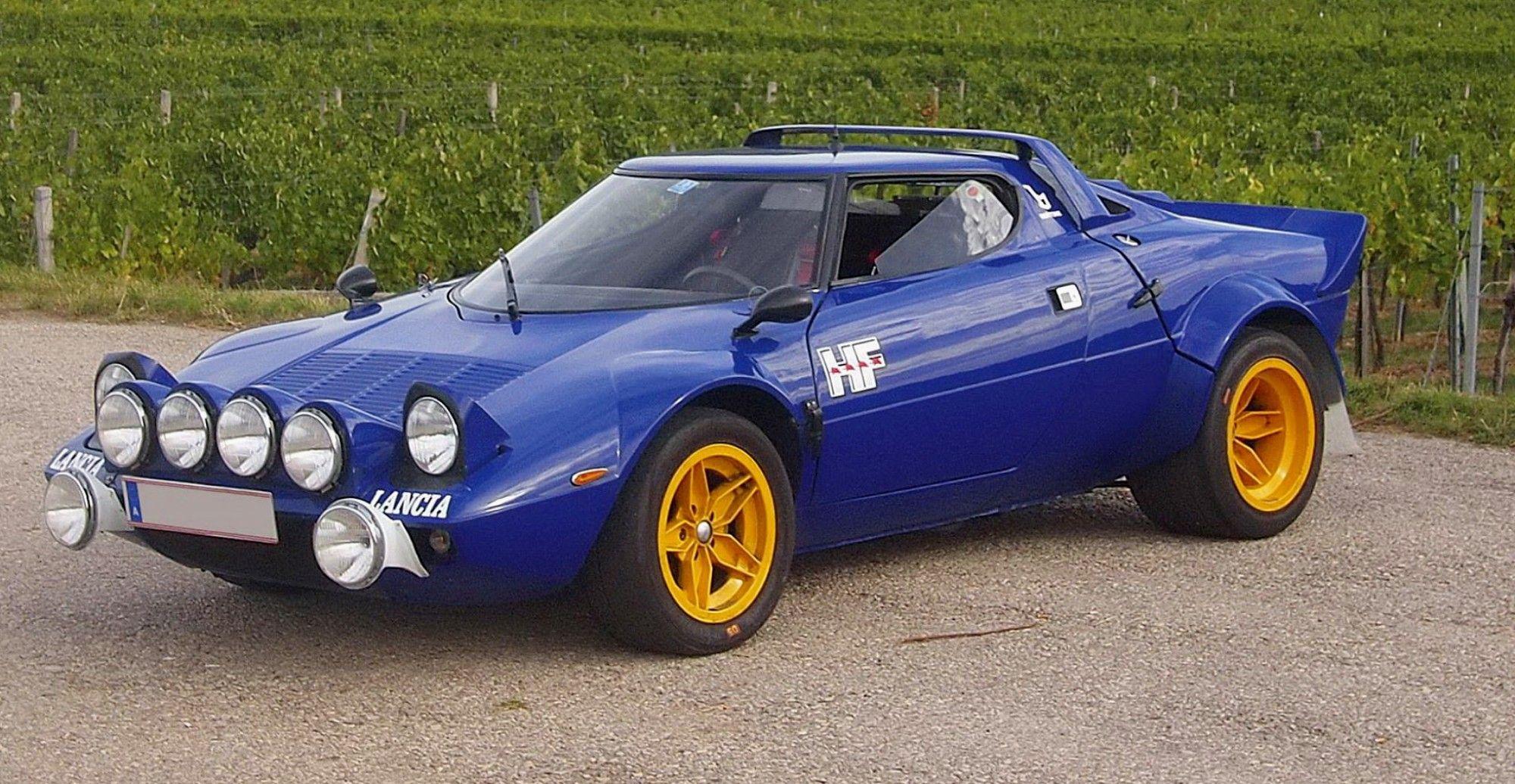 Original Lancia Stratos Group 4 car up for auction through ...