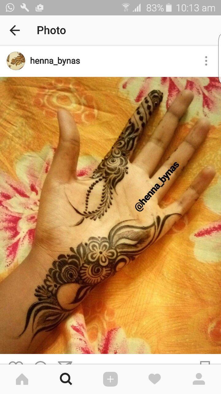Thnheena Mehndi Designs Hand Henna Henna Hand Tattoo