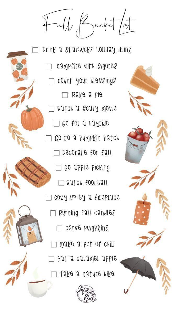 Fall Bucket List #fallbucketlist Fall bucket list | fall date ideas | fall to do list | fall activities | pumpkin patch #fallbucketlist Fall Bucket List #fallbucketlist Fall bucket list | fall date ideas | fall to do list | fall activities | pumpkin patch #fallbucketlist