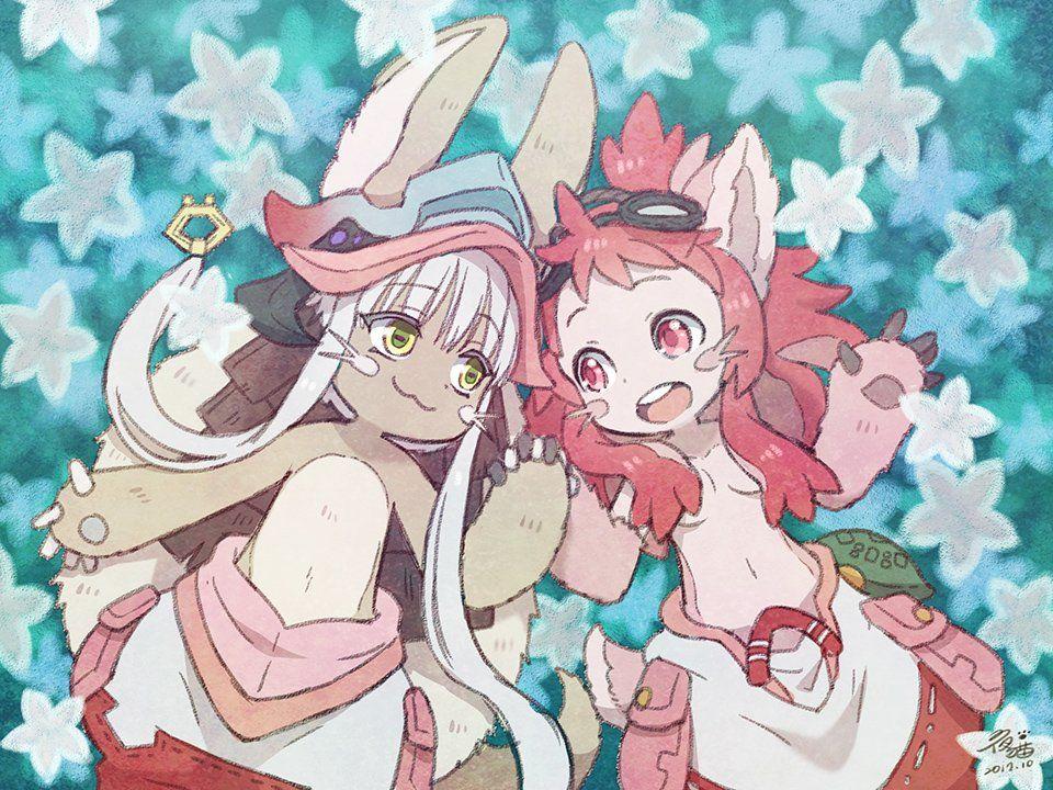 nanachi and mitty イラスト マンガアニメ カワイイアニメ