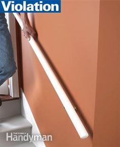 5 Common Building Code Violations Home Safety Home Repair Home Improvement