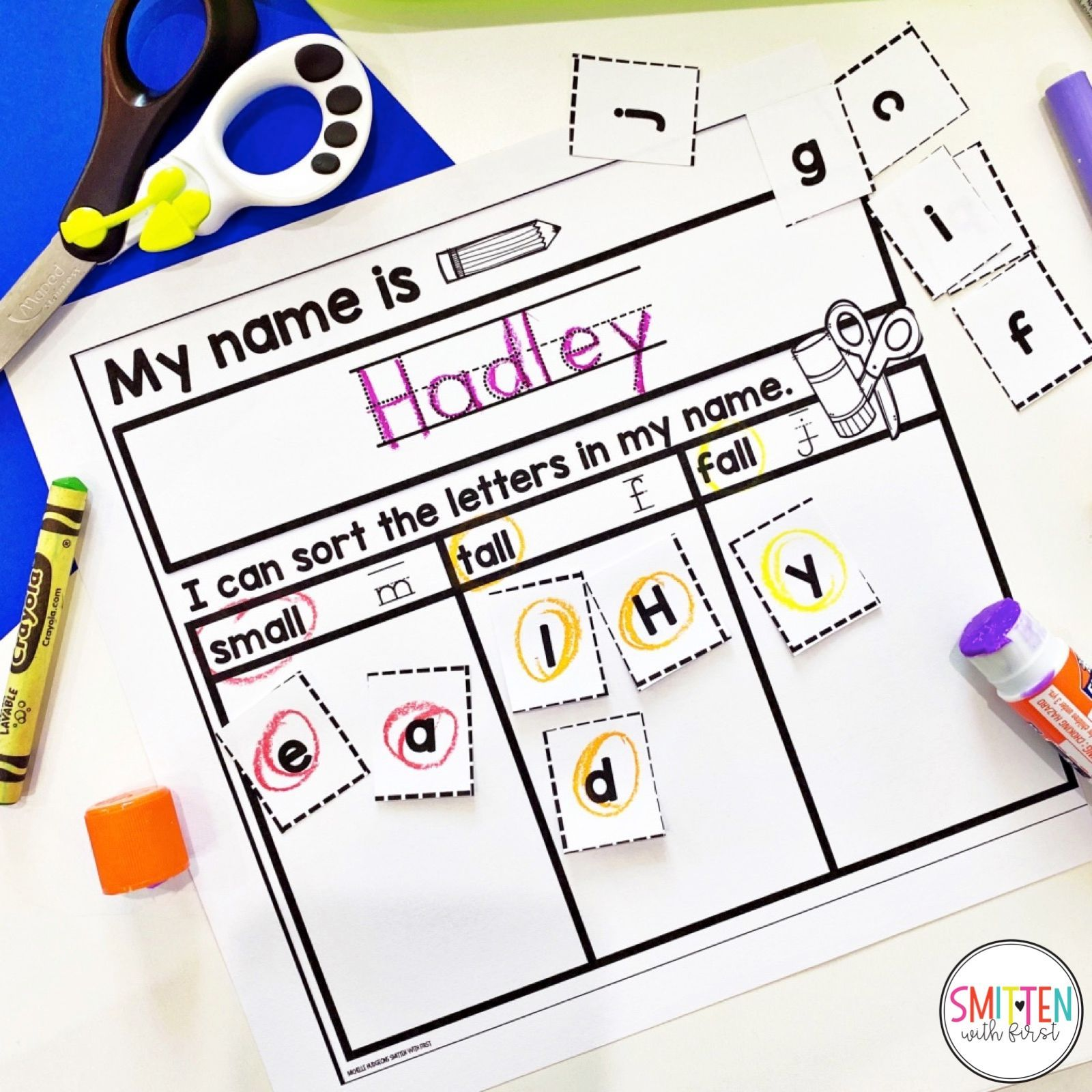 Editable Name Worksheets To Practice Reading Tracing And