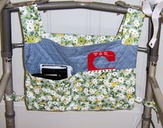 Sew a Hanging Bag for a Walker with This Free Pattern: Materials & Cutting Directions