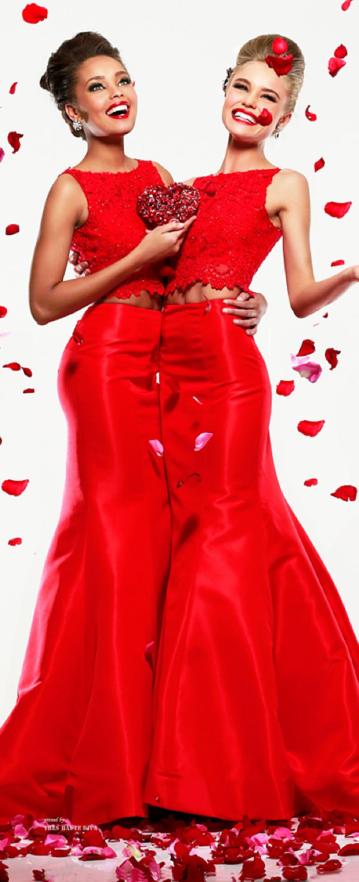 Christmas: Glamour and Traditional:  Sherri Hill Fall 2014