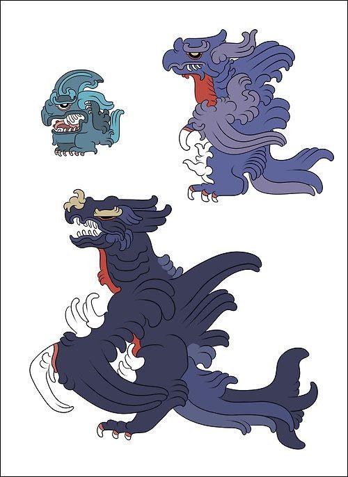 古代マヤ文明風に描かれたポケモンのイラストシリーズpokemayans