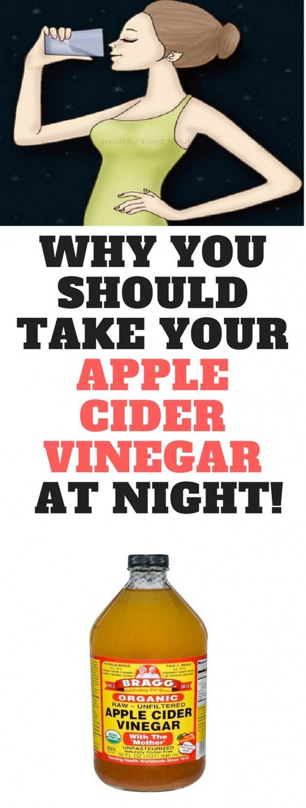 Apple cider vinegar has a wide range of uses as it offers numerous health benefits including weight loss raising the beneficial bacteria in the gut and balancing the pH levels of the body. #applecider #night #applecidervinegarbenefits