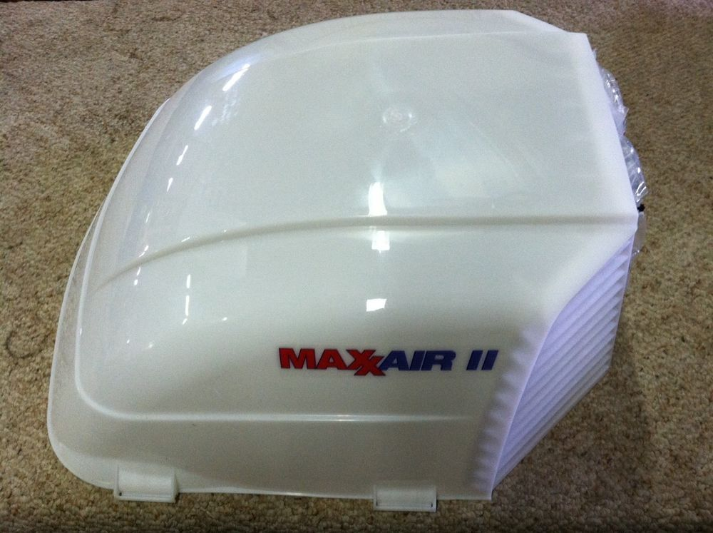 Rv Camper Maxxair Ii Vent Cover Translucent White Maxx Max Air 2 00 933072 Vent Covers Rv Campers Rv