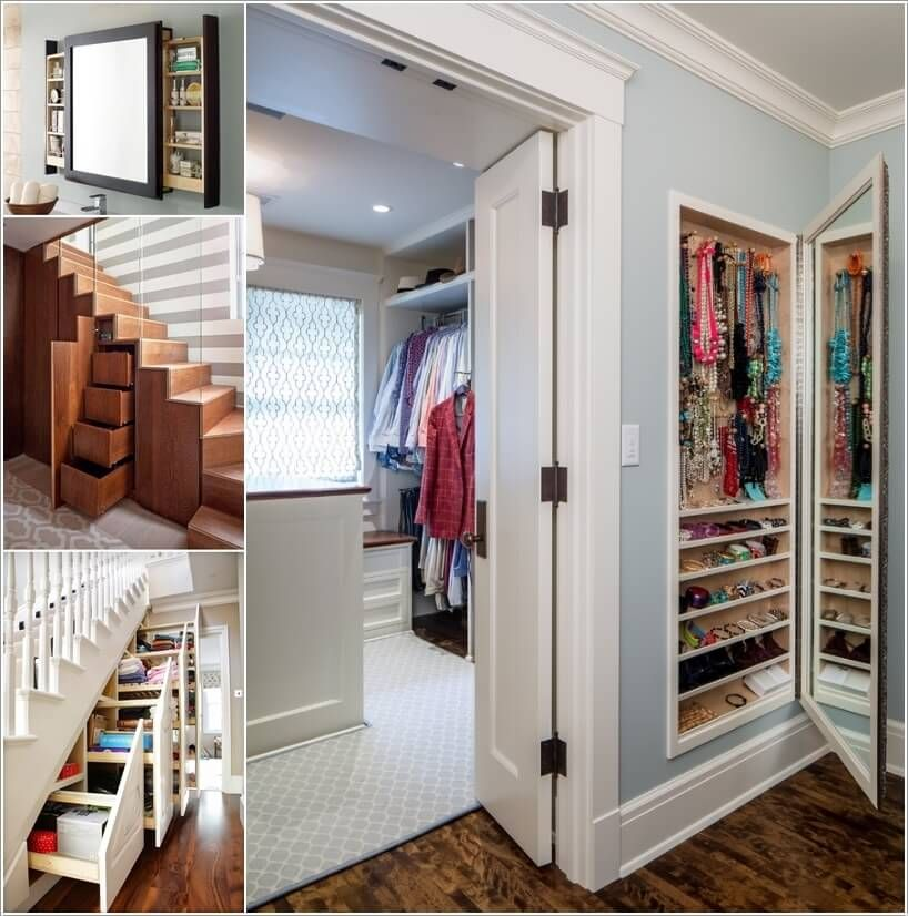 10 Clever Hidden Storage Ideas For Your