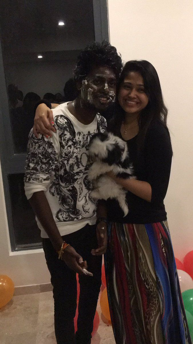 B'day Baby Atlee with her wife PriyaMohan Have a great