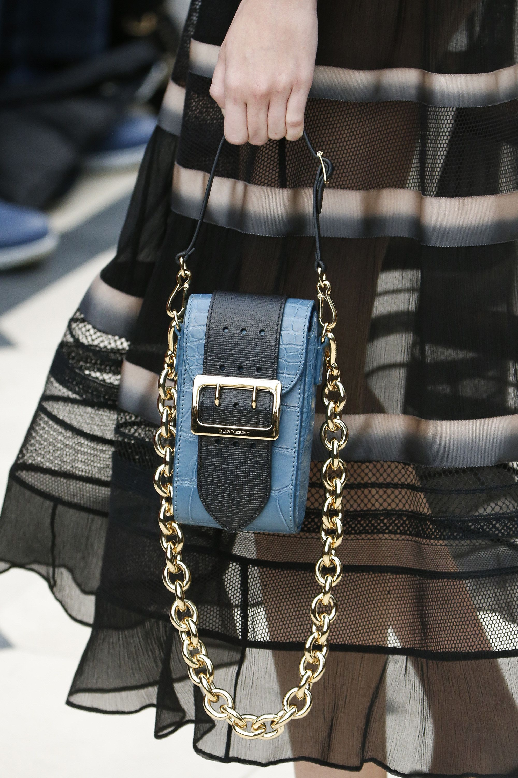 Fashion week Prorsum burberry accessories spring summer collection for lady