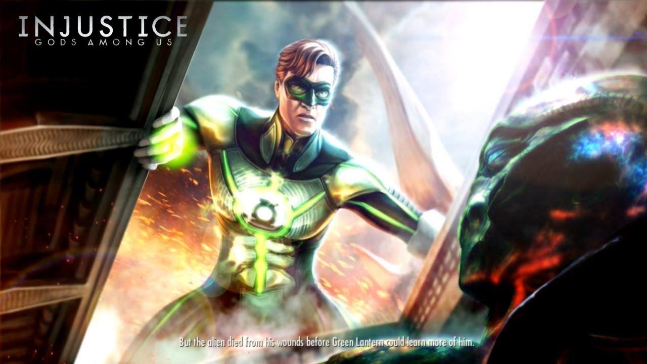 Injustice Gods Among Us Final Classic Battle Green Lantern Ending Green Lantern Injustice Lanterns