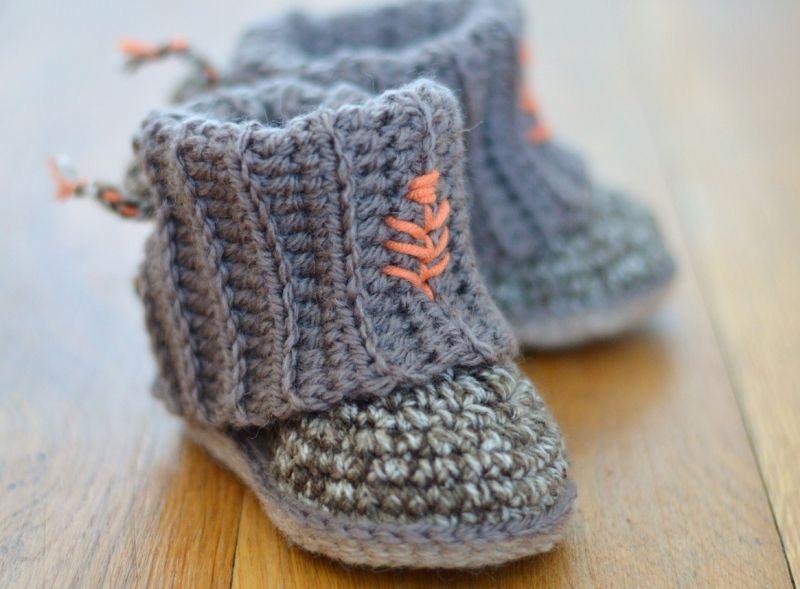 Mini Uggs with Rib Cuffs crochet pattern by Matilda\'s Meadow | Uggs ...