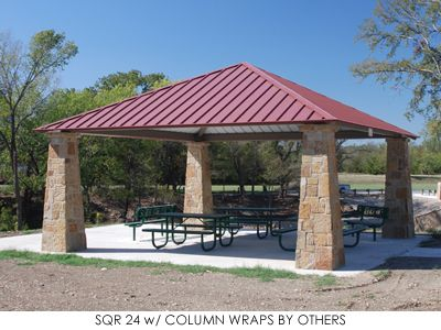 Square Hip Roof Shelter Roof Architecture Patio Roof Pergola With Roof