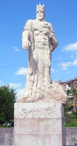 TigranStatue - A statue of Tigran the great