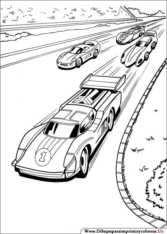 Dibujos de Hot Wheels para Imprimir y Colorear | BORDADOS PINTEREST ...