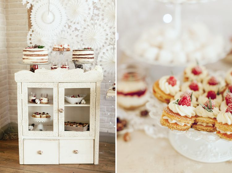 Wedding Desserts for a Magical Narnia wedding theme | Fab mood #winterwedding #wintertale