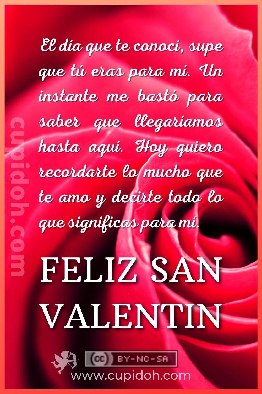 Feliz Día De San Valentín Imágenes De San Valentín Cupidoh Com En 2021 Feliz Día De San Valentín Frases Bonitas Feliz Día