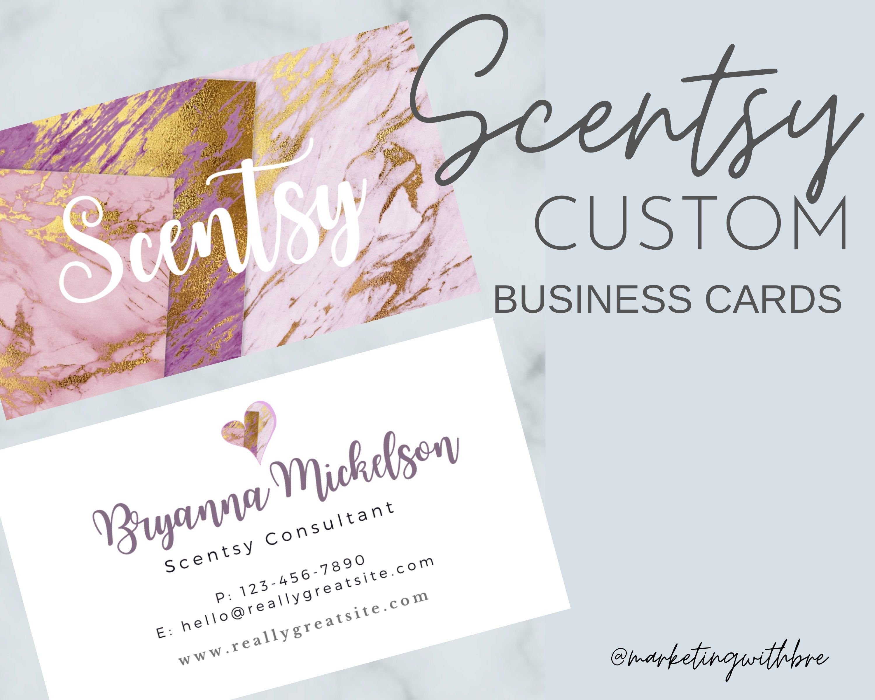 Scentsy Business Card Design 500 Business Cards Printed Template Personali Free Printable Business Cards Printing Business Cards Free Business Card Templates
