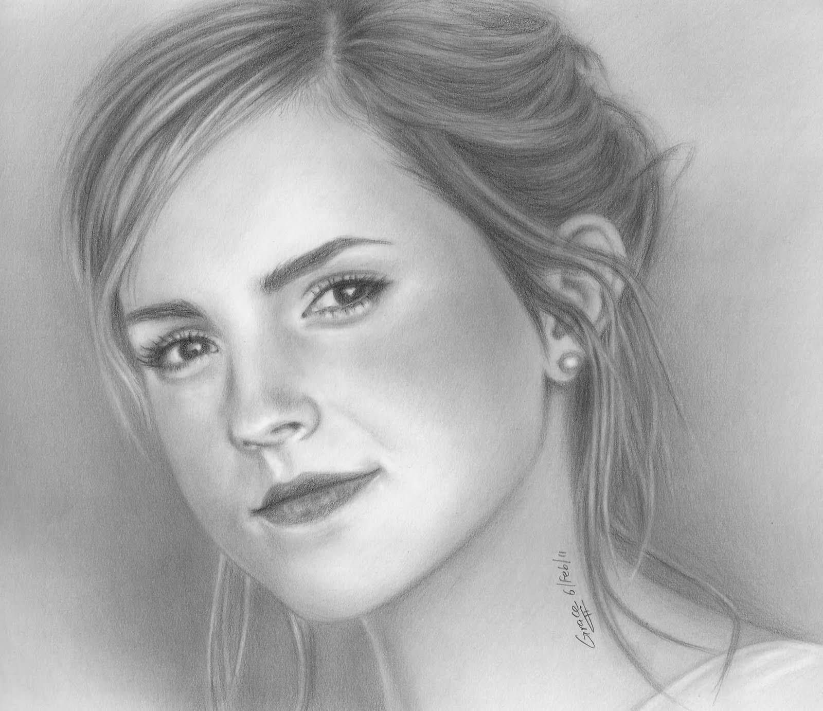 Best Women Realistic Drawing Pencil Sketch