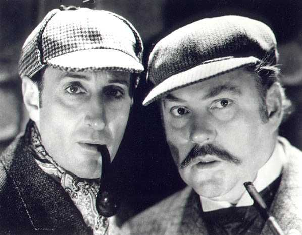 Basil Rathbone (Holmes) And Nigel Bruce (Dr. Watson) Throughout Dr Watson I Presume