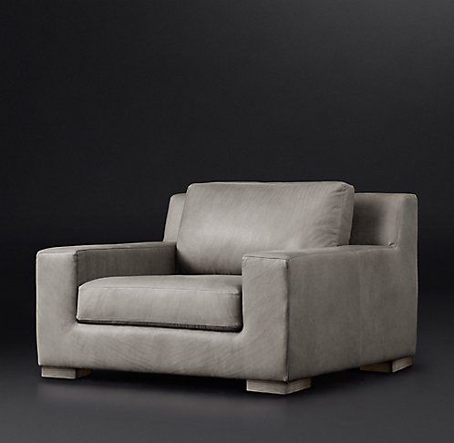 Modena Track Arm Leather Sofa Rh Modern Chairs Pinterest