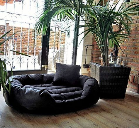 Tierlando Dog Bed Philip Dog Sofa Faux Leather Inflammable