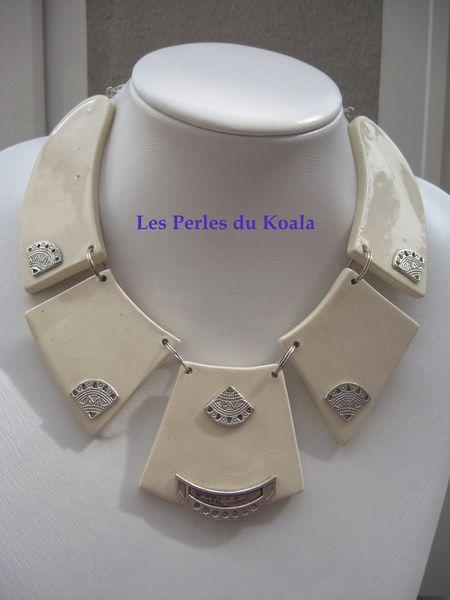 ~ COLLIER CERAM ~ de Les Perles du Koala sur DaWanda.com