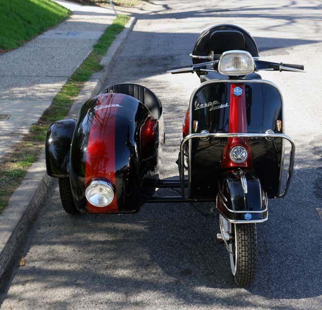 vintage vespa sidecar for sale traveling pinterest vintage vespa vespa scooters and sidecar. Black Bedroom Furniture Sets. Home Design Ideas