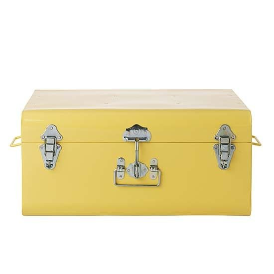 metal storage trunk from toast storage trunks our pick of the best storage