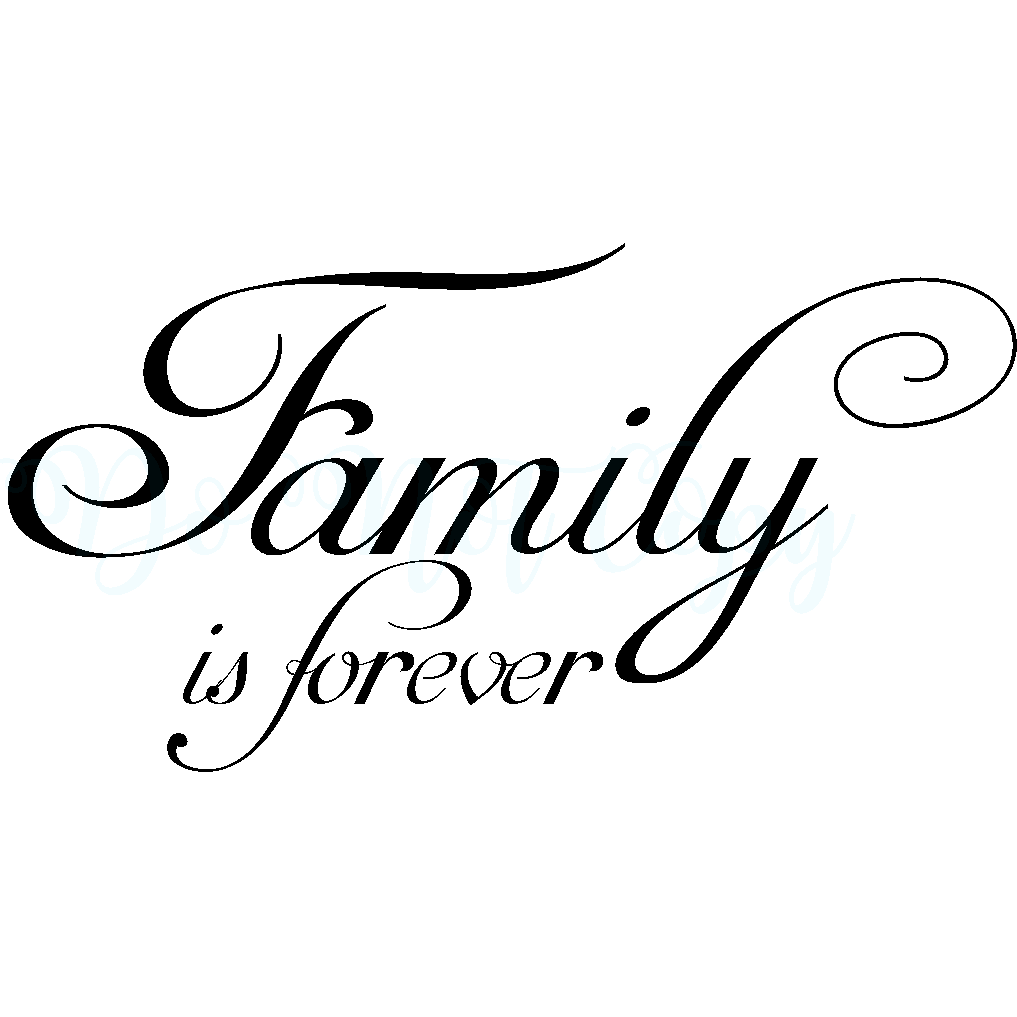 family is forever wall mural vinyl graphic decal products