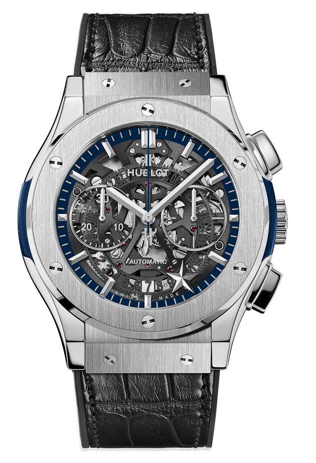 imitación Hublot Classic Fusion Cronografo Aero Dallas Cowboys Titanio reloj