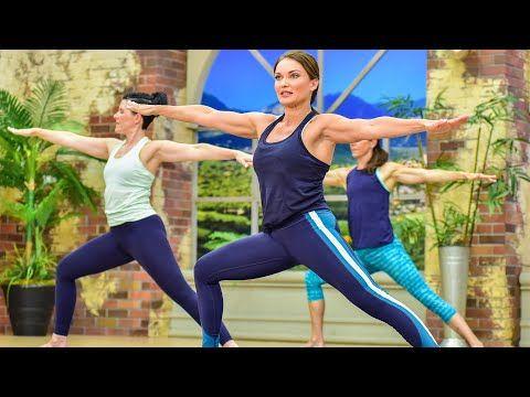 cathe friedrich's perfect flow yoga strength  flexibility